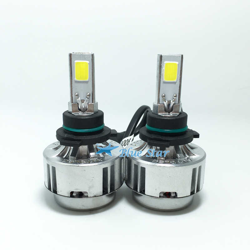 All-in-One Car Headlights H8 H9 H11 LED Auto Front Bulb 66W 6000lm H7/H3/H1 HB3/9005 HB4/9006 Automobiles Headlamp 6000K/3000K