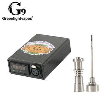 G9 Portable Desktop Vaporizer Mini Enail Digital Temperature Control Box  Hot Runner 10mm 16mm 20mm