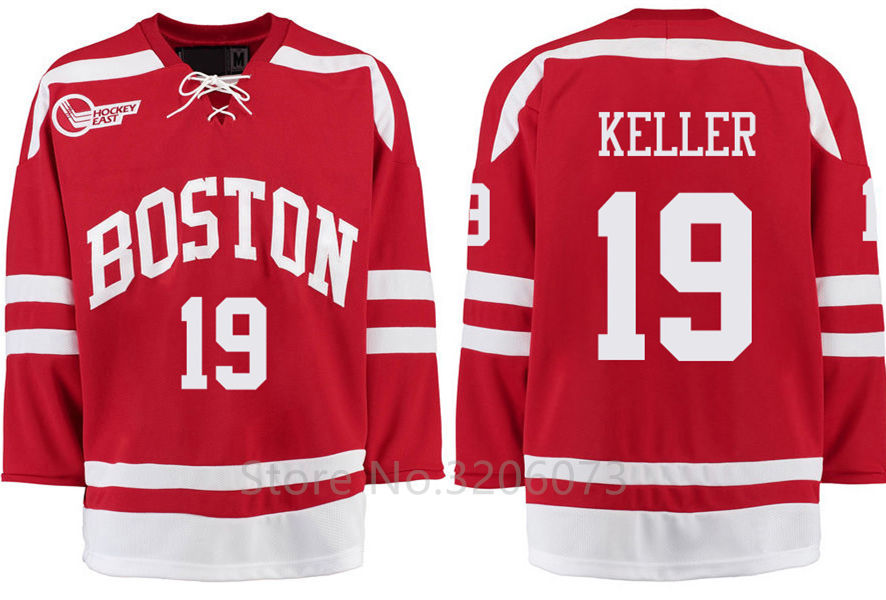 wholesale dealer c08a1 2584e Buy boston university jersey custom and get free shipping on ...