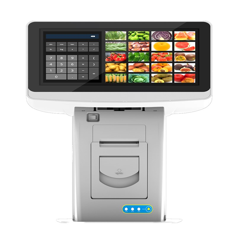 11.6Inch POS Terminal System Wire Resistive Touch Screen Android Cash Register With 58mm Ticket Printer LED/LCD Panel