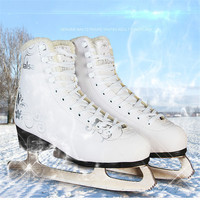 Professional Ice Skates Shoes Adult Child Ice Hockey Shoes Knife Real Ice Skating Blade shoe