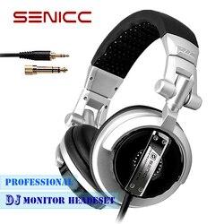 SOMIC ST-80 Professional DJ Headphone Stereo Studio Earphone Gaming Monitor Headset Headphones with 3.5mm 6.3mm Jack 2.5m Cord