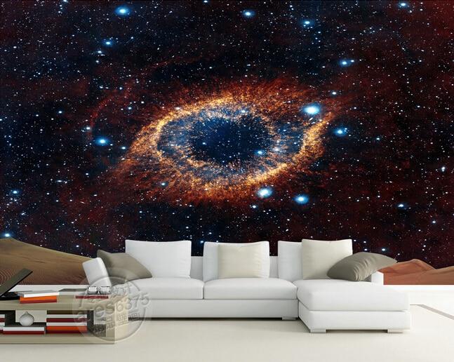 Peintures Murales De Reve Personnalisees L Univers Etoiles Pour Ktv