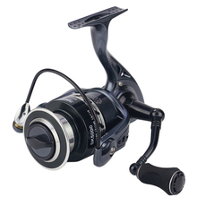 2017 New SK2000-7000 Quality 13+1BB Spinning Fishing Reel 5.2:1 Good Quality Lure Spinning Reel CNC Metal Exchange Handles