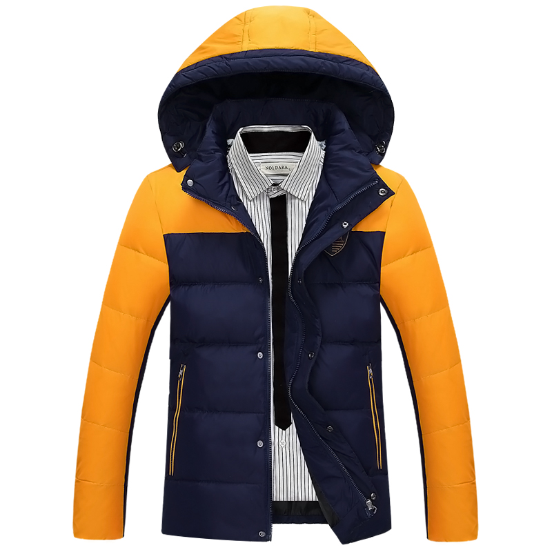 winter jacket men 2017 warm jacket parka Winter new wave of Korean men thin coat jacket Men jacket male teenagers 1505