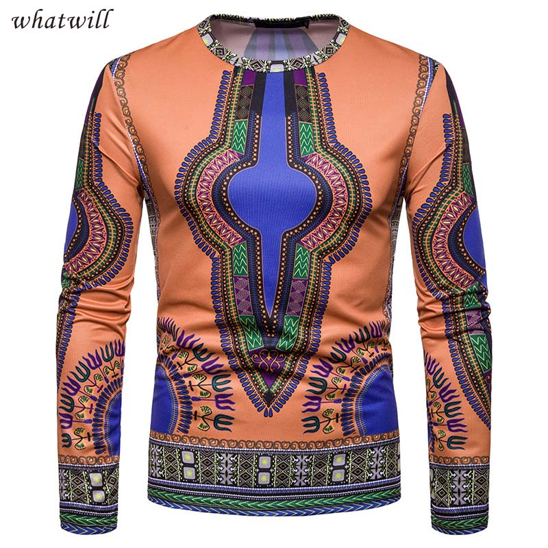 New africa clothing fashion robe africaine hip hop 3d printed dashiki casual african clothes dresses t