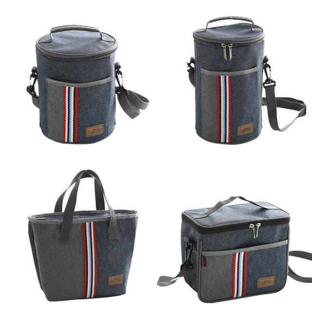 Oxford Thermal Lunch Bag Insulated Cooler Storage Women kids Food Bento Bag Portable Weekend Picnic Accessories Supplies Product