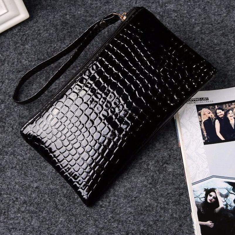 6c266fcf758e US $1.15 16% OFF|Fashion Women Wallets Crocodile Zip Coin Purse Clutch  Small Wallet for Girls and Ladies Leather Coin Purse Femininas-in Coin  Purses ...