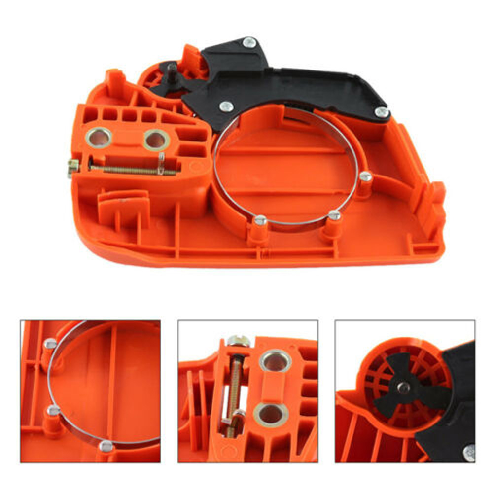 Image 5 - Clutch Cover Chain Brake Assembly For Husqvarna 235 235E 236 240 Chainsaw Home Garden Supplies-in Tool Parts from Tools