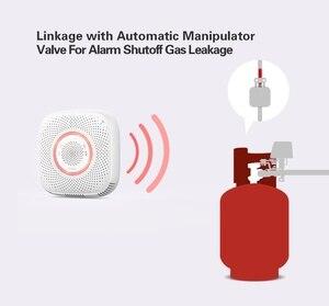 Image 5 - Lonsonho Tuya Wifi Intelligente Sensore di Gas Rilevatore di Perdite Smart Home, Casa Intelligente di Sicurezza di Allarme Vocale di Vita Intelligente App di Controllo A Distanza Senza Fili