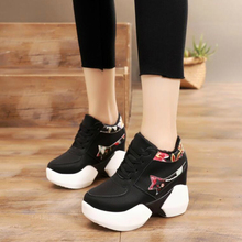 Women Inner Heightening Sports Fashion Shoes