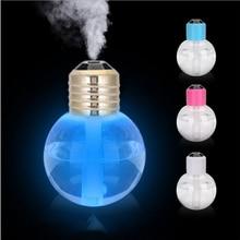 USB Ultrasonic Humidifier Home Office Mini Aroma Diffuser Colorful LED Night Light Aromatherapy Mist Maker Creative Bottle bulb
