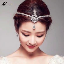 Новинка жемчужные украшения для волос свадебный головной убор