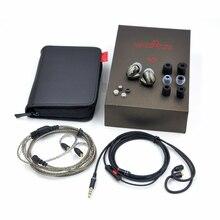 MaGaosi K3 Pro In-Ear Écouteur Dynamique + 2BA Hybride Triple Pilote HIFI Audiophile Intra-auriculaires Avec MMCX Câble Détachable IEM Moniteur