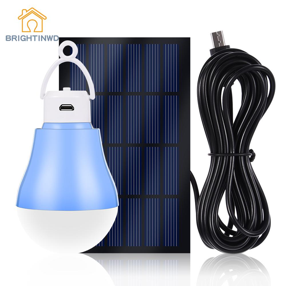 LED Solar Lamp For Garden Decoration Path Lights Solar Bulb Pannel Energy System Sunligh ...