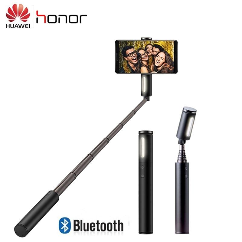 Huawei Selfie-Stick Monopod Extendable Original Bluetooth with Led-Light Wireless
