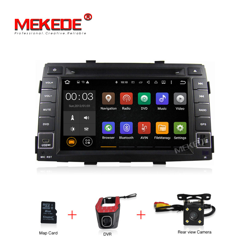 Free shipping Quad core Android7 1 4G WIFI Car multimedia player for KIA Sorento 2010 2011