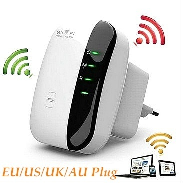 Wireless Wifi Repeater 802.11N/B/G Network Routers Signal Amplifier Booster WIFI 2.4G Repeater 300Mbps Range Expander SB0023