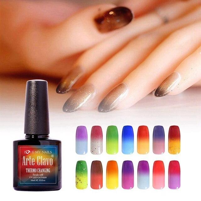 Arte Clavo Professional 48 Colors Choose 1 Piece Temperature Change ...