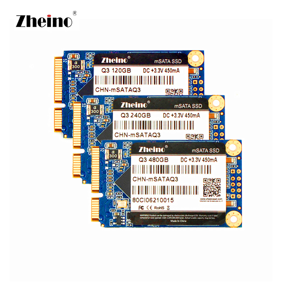 mSATA 120GB 128GB 240GB 256GB 480GB 512GB SSD Hard Disk Dirve TLC NAND Flash Memory Zheino Internal SSD For PC LAPTOP DESKTOP цена