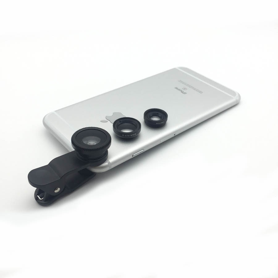Univesal New 5in1 8X Zoom Phone Camera Lens Telescope with Flexible Tripod 3in1 lens Fisheye Lens Wide Lens Macro for smartphone 26