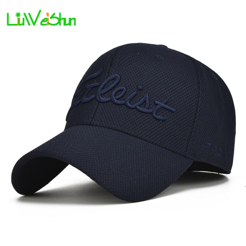 Prix pour [LWS] nouvelle Broderie Lettre Bleu Marine Casquette de baseball Chapeaux Pour Hommes en plein air Papa Chapeau De Camionneur Chapeaux Hommes Casquette Os Hip Hop Gorras