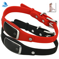 YH Waterproof IP67 Silicon Pets Collar GPS Tracker Real Time Locator GPS LBS WIFI Location For