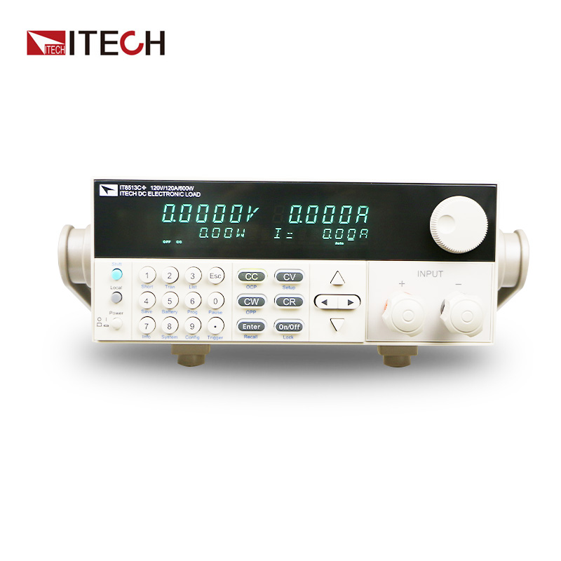ITECH IT8513C+ DC Electronic Load 120V/120A/600W itech plb4 для 32 55