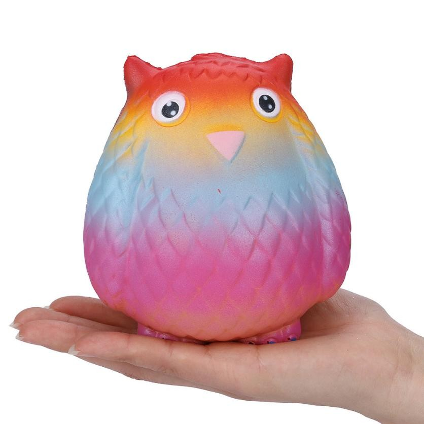 MUQGEW 2018 Unbreakable Stress Relieve Gift Jumbo Squishy Super Soft Slow Rising Squeeze Toy For Children Jouet Enfant GB2