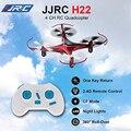H22 mini rc drone jjrc 2.4g 4ch 3d invertido vuelo de $ number ejes rc quadcopter rtf modo sin cabeza de una tecla de retorno rc toys para niños