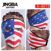 JINGBA SUPPORT Outdoor Riding Sport Windproof Bike Mask Halloween Skull Cool Mask Full Face Facemask Motorcycle Warm Ski Mask цены