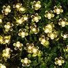 ECLH 5m 7m 12m 22m Peach Flower Solar Lamp Power LED String Fairy Lighs 1 2V Solar Garlands Garden Christmas Decor For Outdoor review