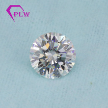 Come With Certificates 5pcs/Pack 3 Carat 9 mm Discount EF Color Quality Moissanite Factory price VVS Round 3 Ex Brilliant Cut