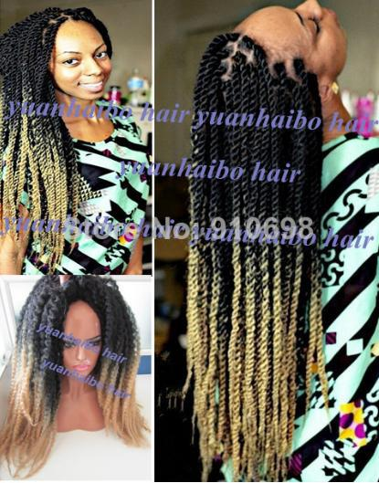 Stock Bottom Price 20 Two Tone 1b 27 Synthetic Twist Marley Braid Hair For Black Women Free Shipping On Aliexpress Alibaba Group