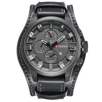 Top Brand CURREN Luxury Mens Watch Men Watches Male Casual Quartz Wristwatch Leather Military Waterproof Clocks