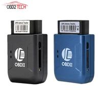 New GPS TK206 OBD 2 Real Time GSM Quad Band Anti theft Vibration Alarm GSM GPRS Mini GPRS Car Tracker Tracking OBD II