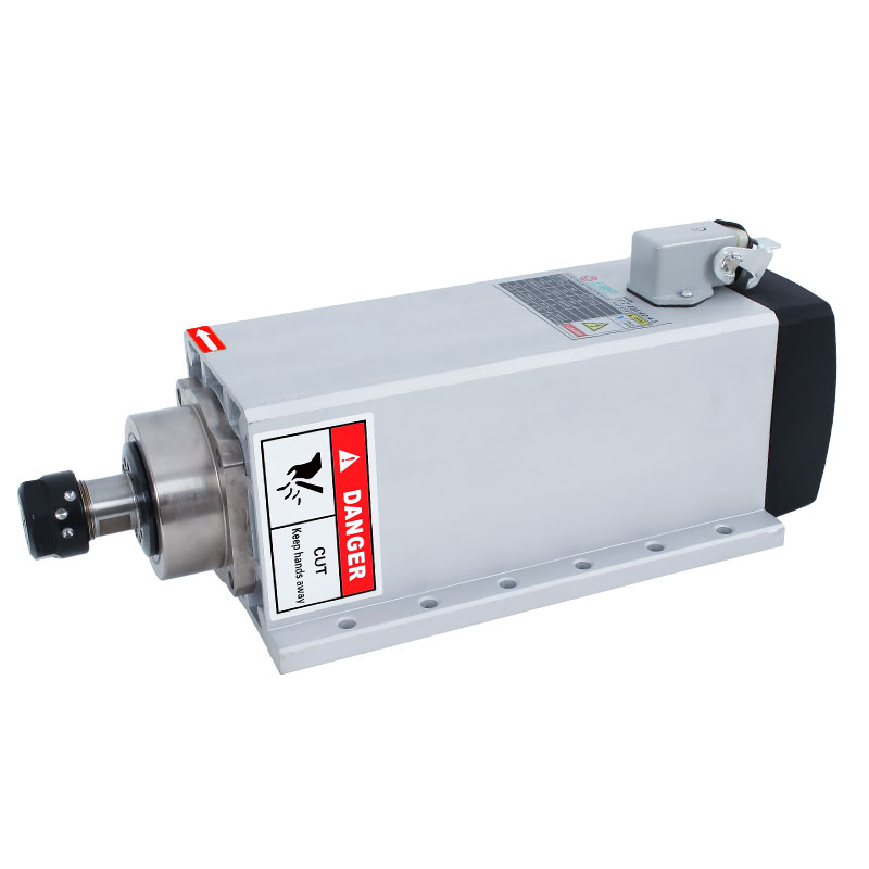 Air-cooled Spindle <font><b>Motor</b></font> 1.<font><b>5</b></font>/2.2/3.<font><b>5</b></font>/4.<font><b>5</b></font>/<font><b>5</b></font>/7.<font><b>5</b></font> <font><b>KW</b></font> Engraving Machine <font><b>Motor</b></font> Spindle image