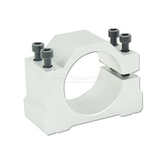 High precision DIY cnc spindle motor fixture clamp C00010 48/50/52/62/65/80/85/100/105/120/125mm for cnc router cnc 100
