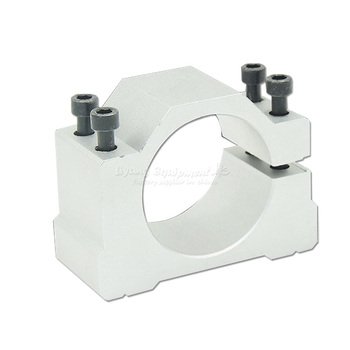 цена на High precision DIY cnc spindle motor fixture clamp C00010 48/50/52/62/65/80/85/100/105/120/125mm for cnc router