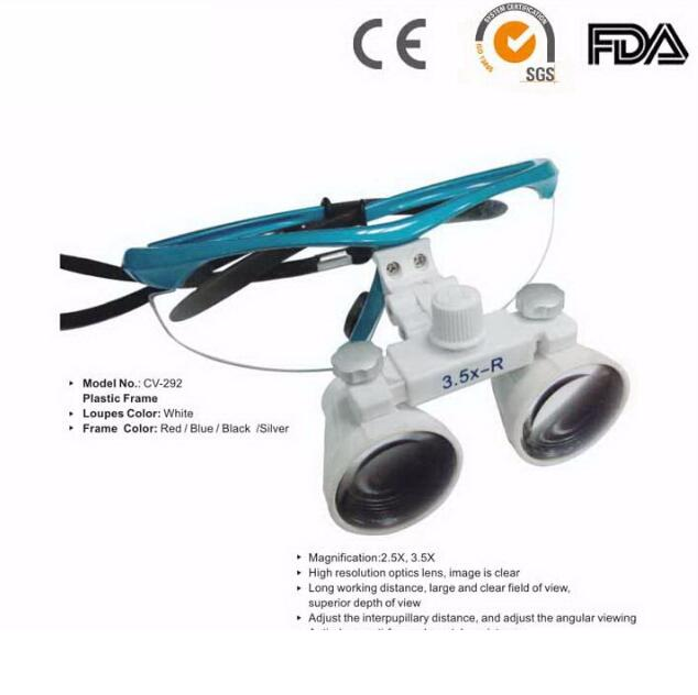 CE Approved new design New Style High Quality Dental Surgical Medical Binocular Loupes 2.5X/ 3.5X 300-450mm Optical Glass Loupes high quality 2 5x 3 5x 4x 5x 6x binocular headwear medical magnifying glass surgical loupes dental loupes medical loupes
