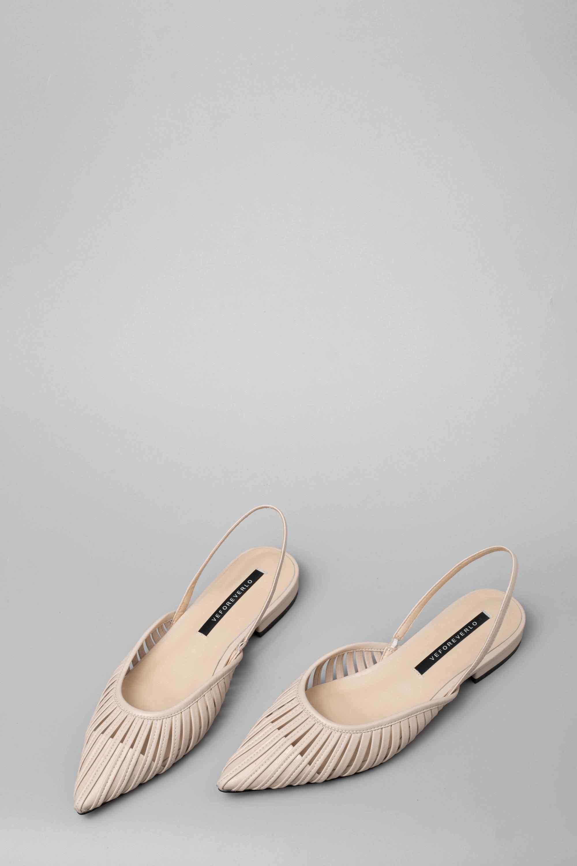 Lenkisen 本革オックスフォードでミュール分厚い低かかとローファー怠惰な女性パンプス職業靴 L78