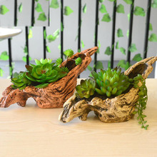 050 Simulation of plant fake Succulent plants decorative ornaments small miniature flowers and potted plants.