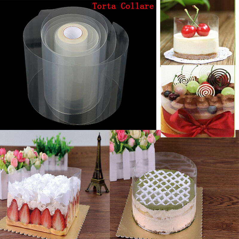 Wide Cake Mold Cake Decorating Tool Mousse Edge Hard Wrapping Tape