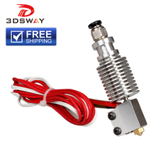 3DSWAY Assembled E3D V6 Hotend Kit with Volcano Nozzle All Metal J-head  for 1.75mm 0.6/0.8/1.0/1.2mm