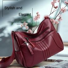 цены High Quality Pu Shoulder Bag Large Capacity Solid Color Simple Messenger Bag With Adjustable Shoulder Strap