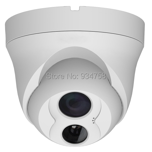 CCTV 1 3 Megapixel HD Vandal proof Network IR 2 8mm Dome Camera