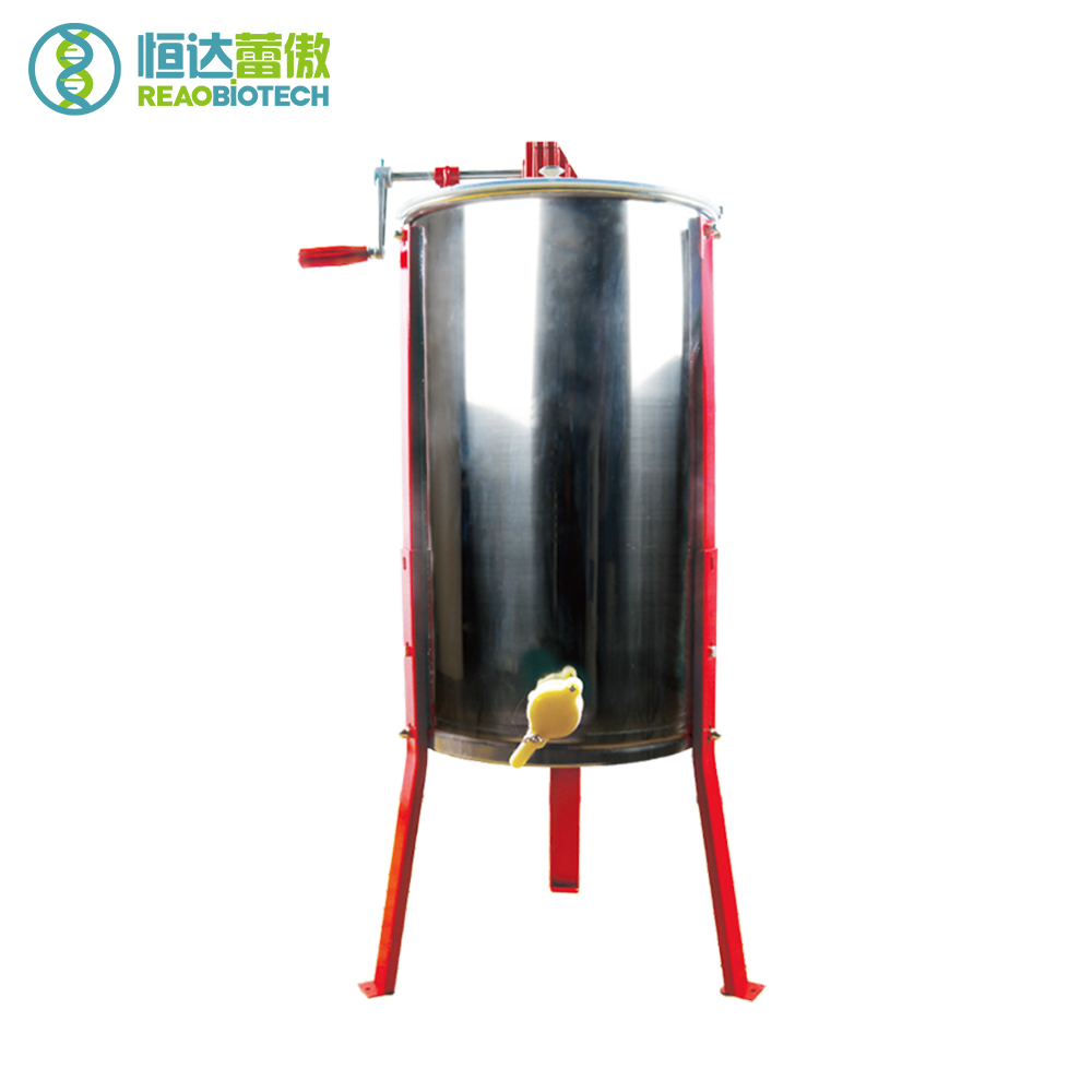 Beekeeping Bee Bees 3 Frames  Manual Honey Extractor Beekeeping Equipment and Tools for Beekeeper Random Color for the Leg wax bees machine