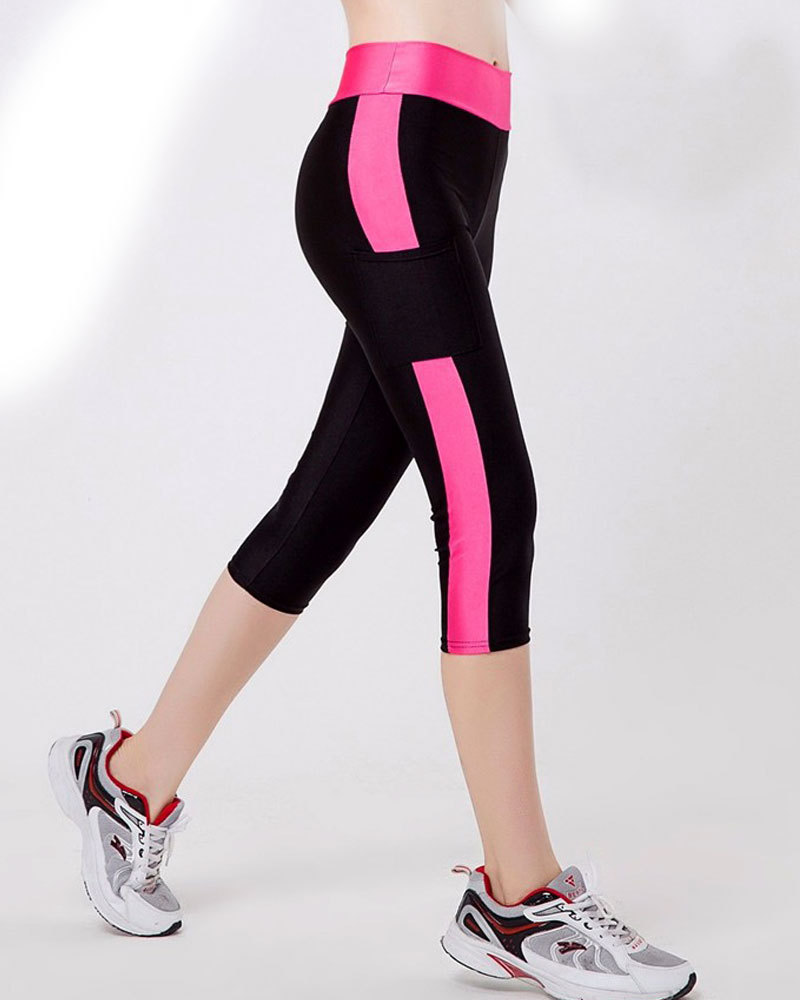 2019New Women Yoga Pants Sports Running Sportswear Stretchy Fitness Leggings Seamless Tummy Control Gym Compression Tights Pants in Yoga Pants from Sports Entertainment