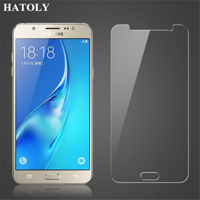 sFor Samsung Galaxy J7 Neo Glass Ultra Thin Protective Film HD Screen Protector for Samsung J7 Neo Tempered Glass for J7 Neo ^