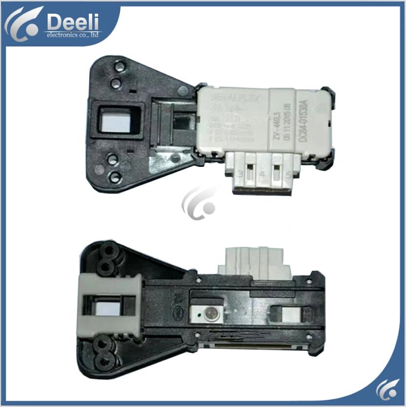 все цены на Free shipping Original for Samsung washing machine electronic door lock delay switch WF8500NHW WF0702NHM/XSC онлайн